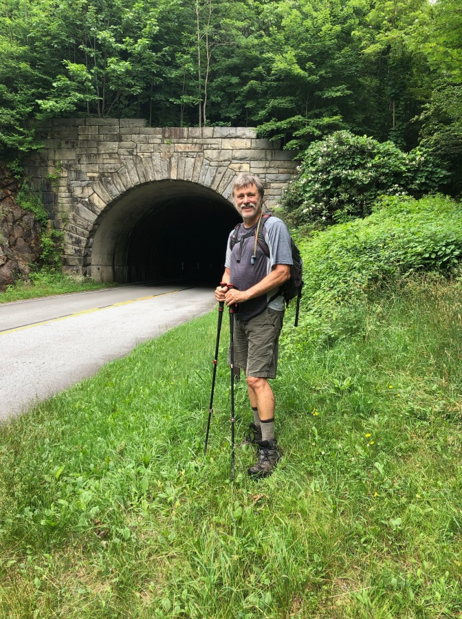 16. Wayne on Blue Ridge Parkway